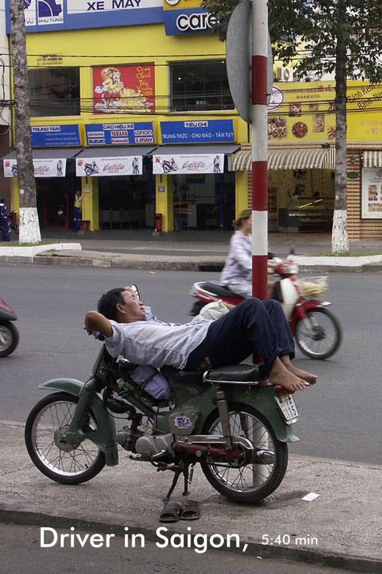 Driver in Saigon