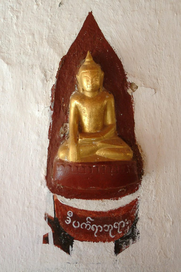 Buddha-Statue, Myanmar