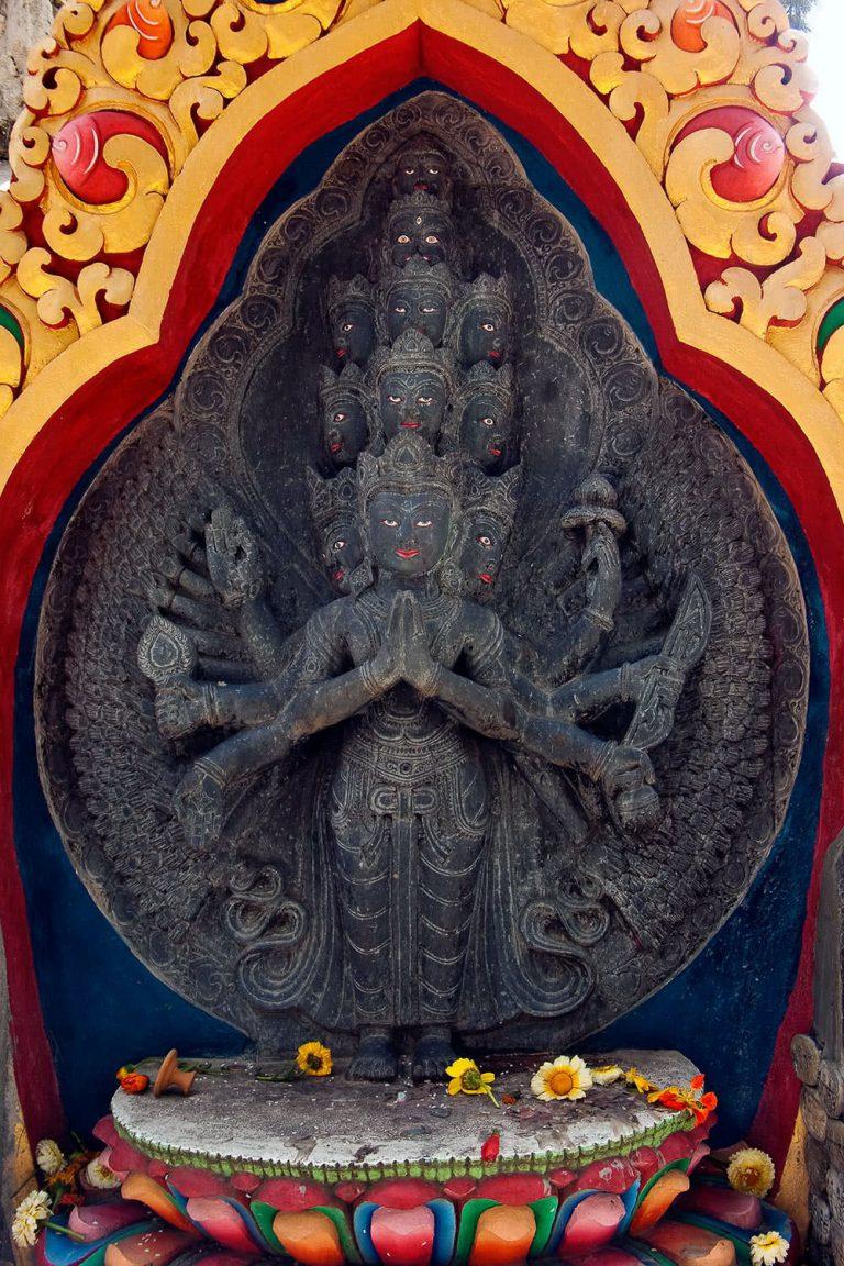 Buddha-Statue, Nepal