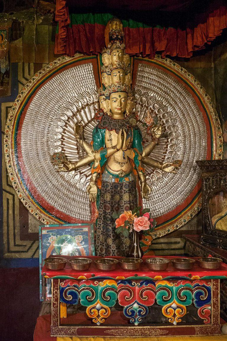 Buddha-Statue, Ladakh