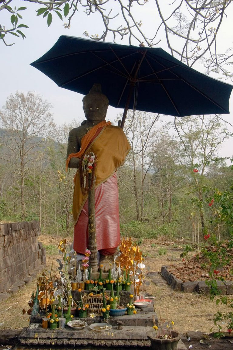 Buddha-Statue, Vatphu, Laos