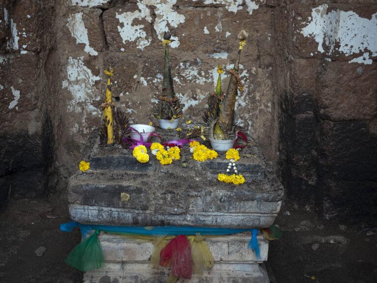 Buddhistisches Still aus Laos