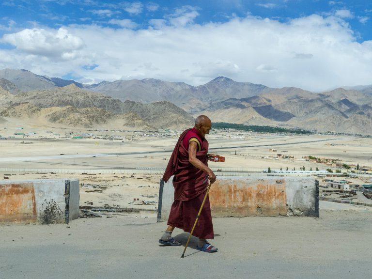 Mönch in Ladakh