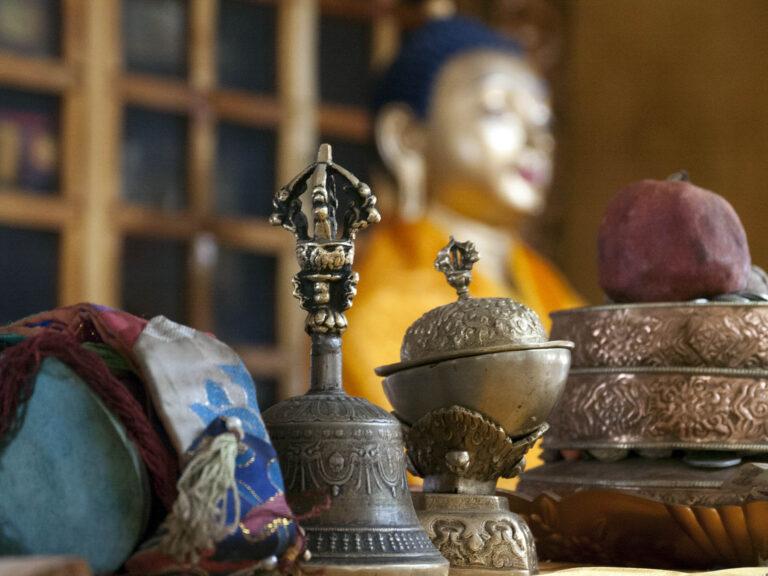 Buddhistisches Still aus Ladakh