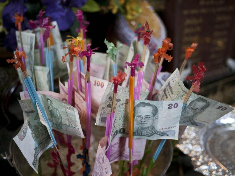 Buddhistisches Still aus Thailand