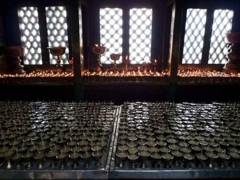 Buddhist Still Nepal