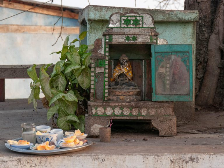 Geisterhaus in Asien