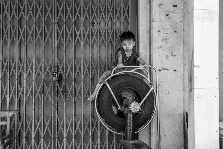 Kind in Myanmar