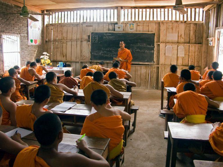 Klosterschule in Laos