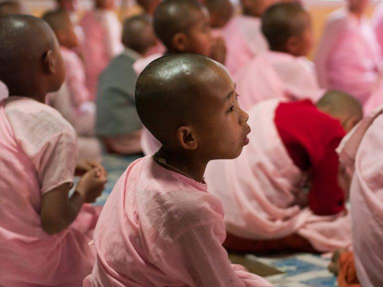 Klosterschule in Myanmar