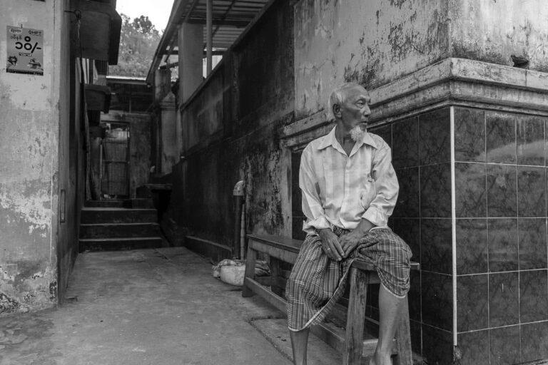 People In Myanmar