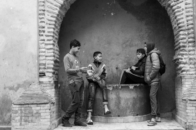 in der Medina, Marokko
