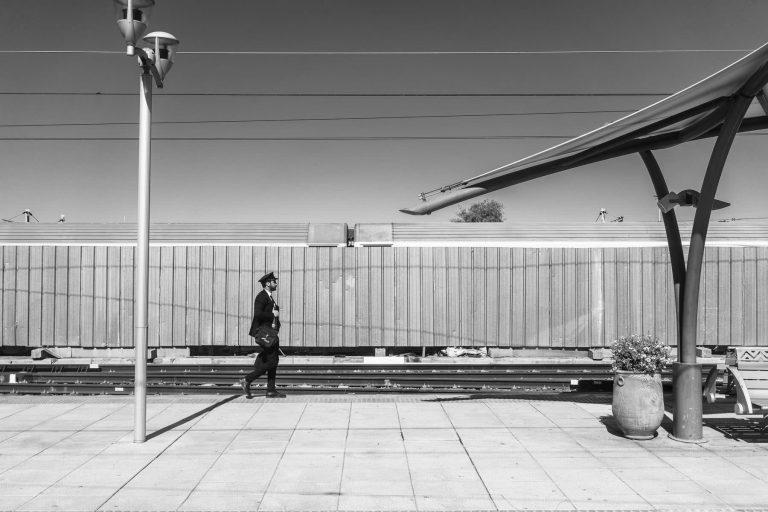 Bahnhof in Marokko