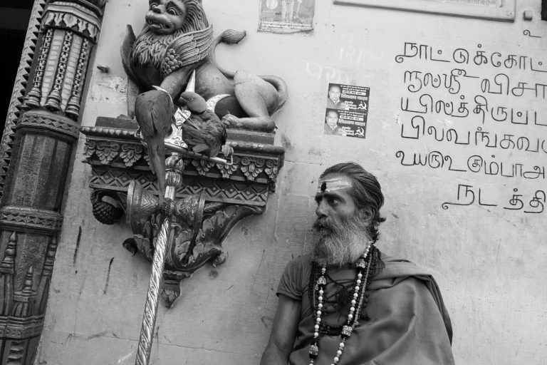 Saddhu in Indien