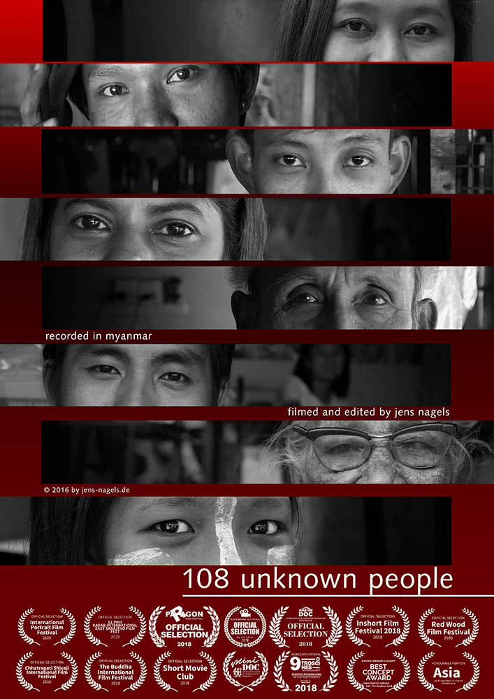 108 unknown people