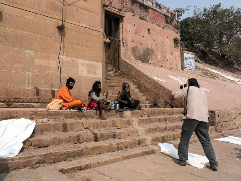 Tourist in Indien