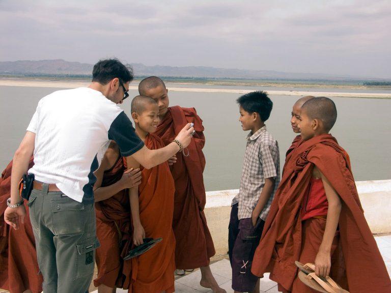 Tourist in Myanmar