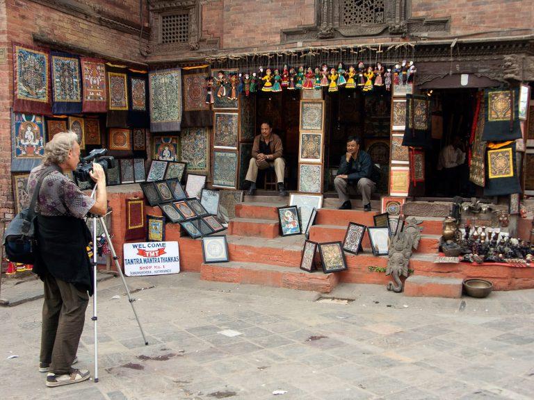 Tourist in Nepal